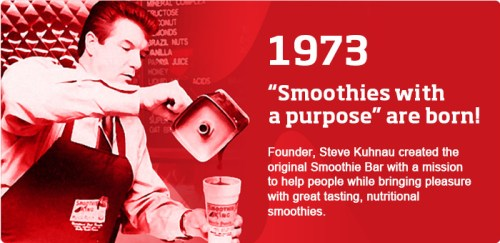 Steve, founder of the first Smoothie bar.