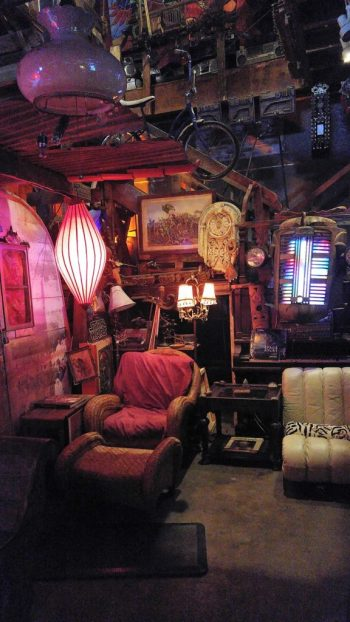 Inside Ghost Ship.