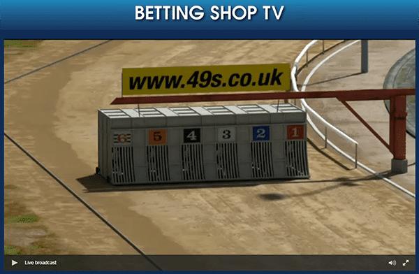 Betting Shop TV - Live TV