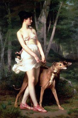 Gaston Casimir Saint-Pierre, Diana the Huntress