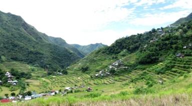 Batad valley terraces