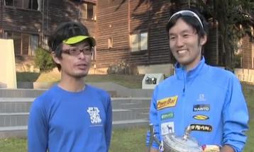 Dai Matsumoto after Mt Hotaka 2013