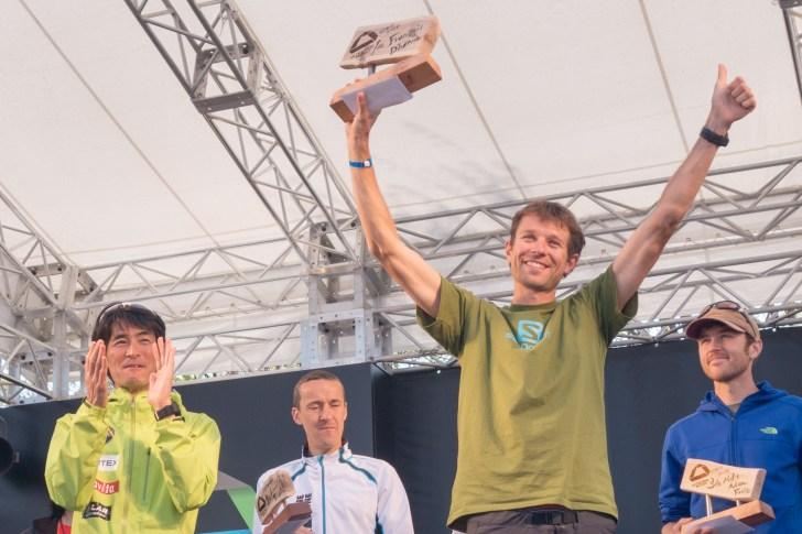 François D'Haene UTMF2014 Award