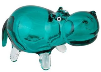 Art Glass Hippo