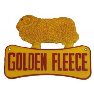 Cast Iron Golden Fleece Ram Sign