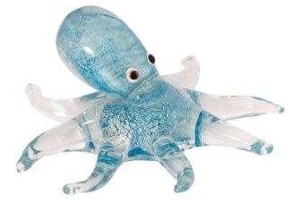 Art Glass Mini Octopus