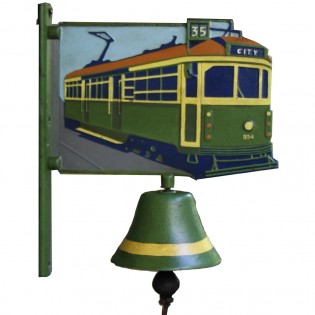 Cast Iron Melbourne Tram Bell
