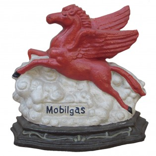 Cast Iron Pegasus Doorstop