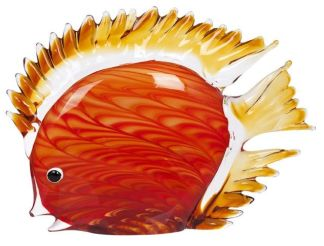 Art Glass Discus Fish