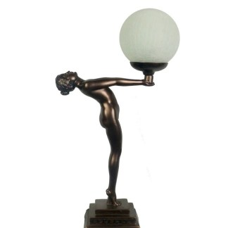 Art Deco Lady Lamp
