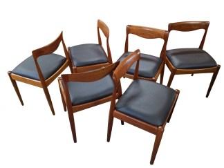 Danish Deluxe Dining Chairs