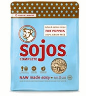 bag of sojos dog food