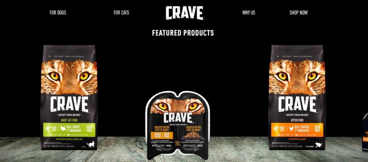 Crave dog food