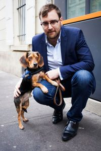 photo libération columbo detecteur canin punaises de lit nicolas roux de bezieux chien renifleur puces traitement détecter