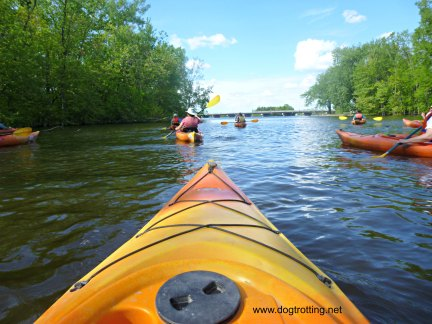 kayaking in Laval, Quebec