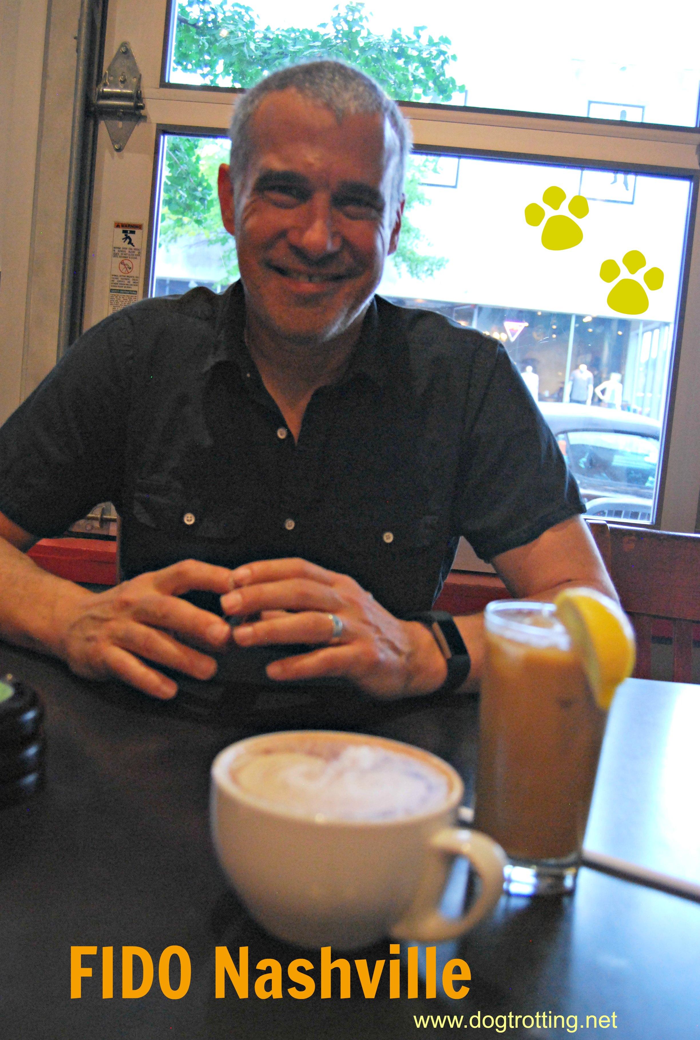 Owner of Fido coffee shop Nashville dogtrotting.net