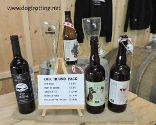 cider at Hounds of Erie Winery