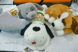stuffed dog pillows just for dogs