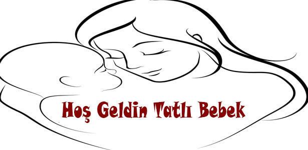 yeni doğan bebek mesajları resimli