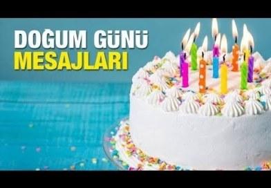 güzel doğum günü mesajı videosu