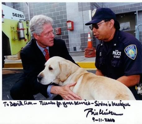 Image result for Sirius 9/11 Rescue dog