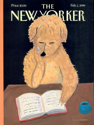 newyorker cover dog