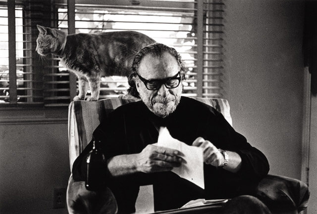 Charles Bukowski on his love for cats and dogs