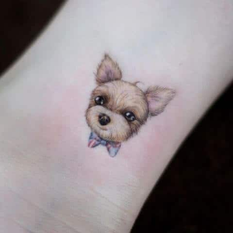 cute pet tattoo