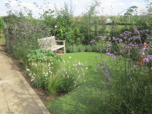 Bluebell Wood, Sheffield, Completed garden oct 2016
