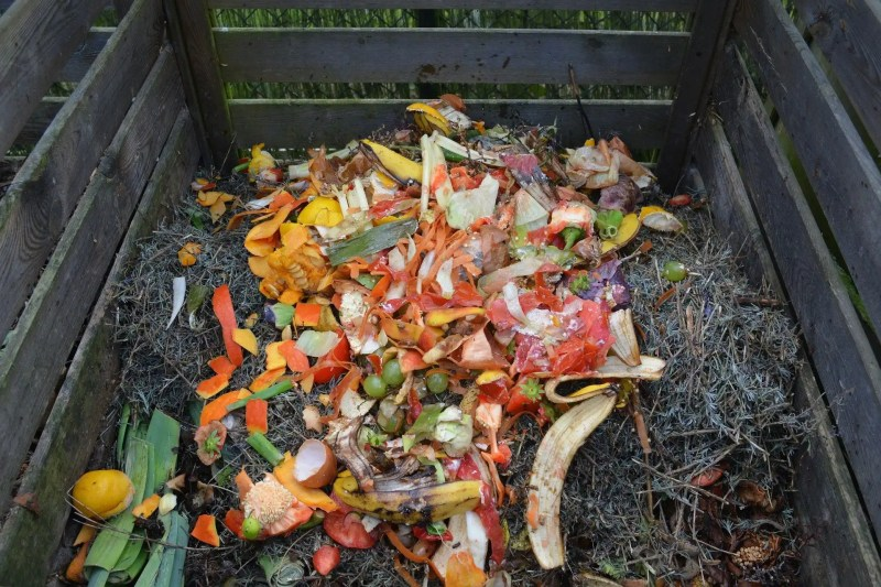 Composting is good for the soil and the environment