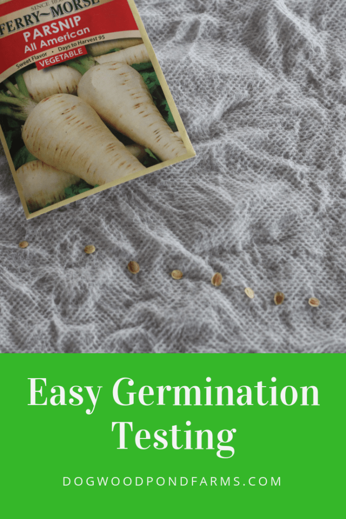 Here's a simple seed germination test to see if your seeds are still good.