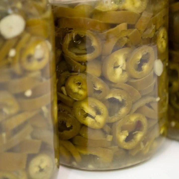 Lacto Fermented Jalapenos
