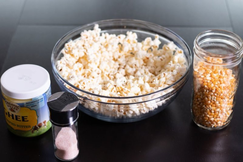 Delicious Stovetop Popcorn