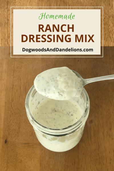 Homemade Ranch Dressing