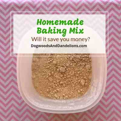 All purpose baking mix for quick meals
