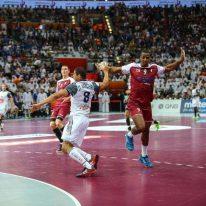 first half Qatar-France