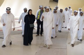 Qatar's Emir visits National Museum