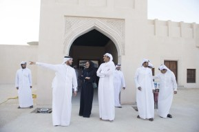 Qatar's Emir visits National Museum