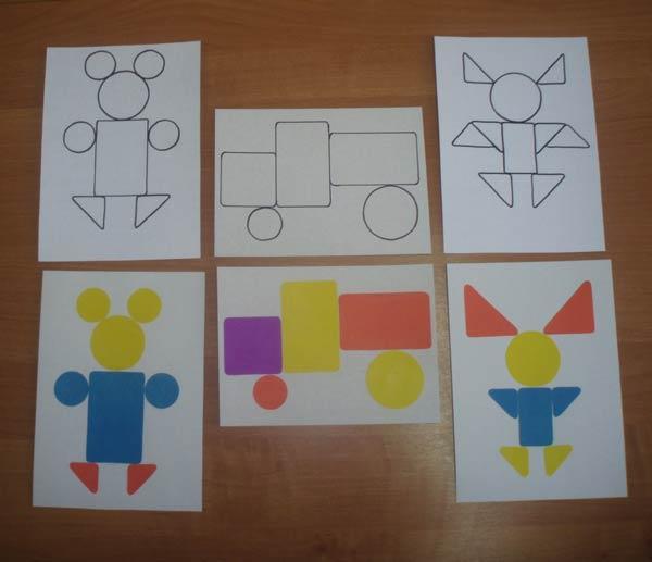 много картотека картинки из геометрических фигур имея возможность