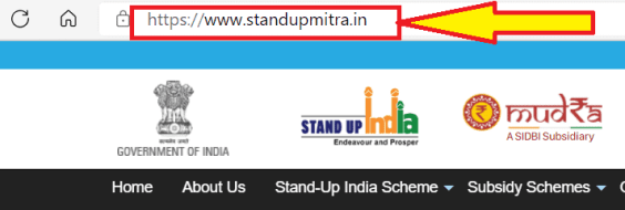 Application process of Stand-up India Scheme