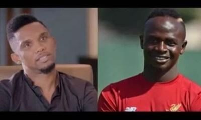 Ballon d'Or 2018 Samuel Eto'o prend la défense de Sadio Mané