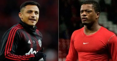 Football, Patrice Evra, Tacle L'attaquant Chilien, Alexis Sanchez