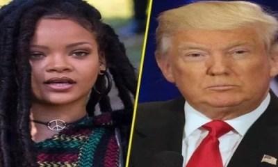 People ,la Chanteuse, Rihanna,colère S'en Prend , Donald Trump