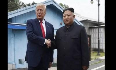 Donald Trump, Critiqué Après , Visite Historique, Démilitarisée ,corée Du Nord