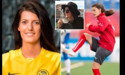 Italie , Le Corps, Footballeuse, Suisse ,florijana Ismaili ,retrouvé