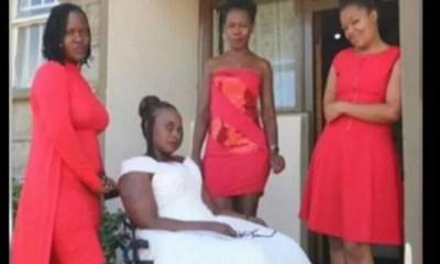 Kenya , Paralysée, Accident De Voiture, Elle Décide , Marier , Elle Même,vidéo