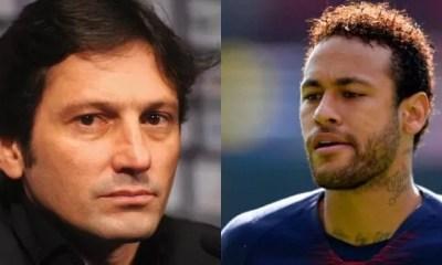 Psg,le Message Fort , Leonardo, Neymar, Enflamme,toile
