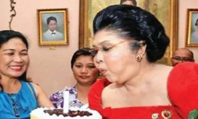 Philippines,des Centaines D'invités ,hospitalisés , Fête Anniversaire De L'ancienne ,première Dame