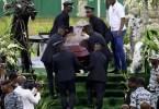 Côte D'ivoire,enterrement, Dj Arafat ,se Termine , Grabuge