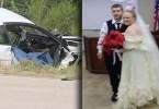 Un Couple ,trouve La Mort ,quelques Minutes , Après Le Mariage
